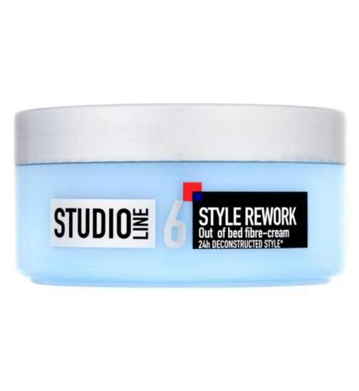 L'Oréal Studio Line Style Rework Out of Bed Fibre-Cream 150ml