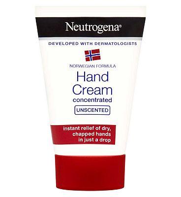 Neutrogena Norwegian Formula Concentrated Hand Cream Unscented 50ml