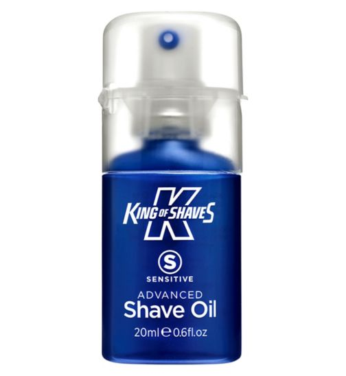 King of Shaves Sensitive Advanced Shave Oil 20ml