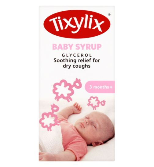 Tixylix Baby Syrup 3 months+ 100ml
