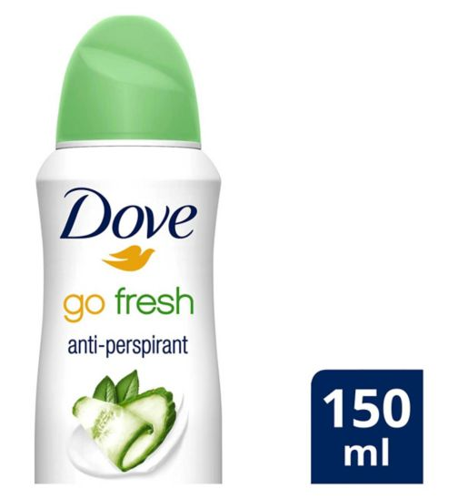 Dove Go Fresh Cucumber Anti-perspirant Deodorant Aerosol 150ml
