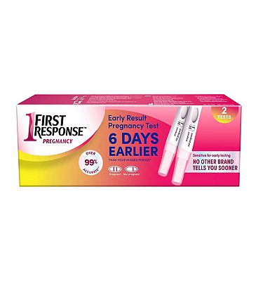 First Response Early Result Twin Pregnancy Test - 2 Pack