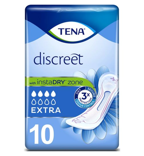 TENA Lady Extra Pads - 10 pack