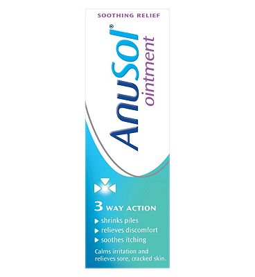 Anusol Ointment Haemorrhoids (Piles) Treatment - 25g