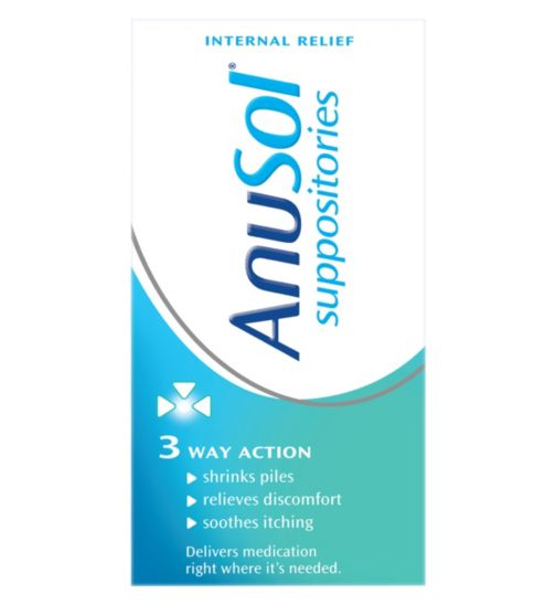 Anusol Suppositories - 24 Suppositories</p>