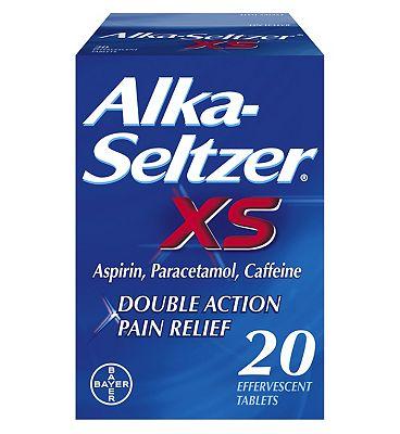 Alka-Seltzer XS 20 Effervescent Tablets