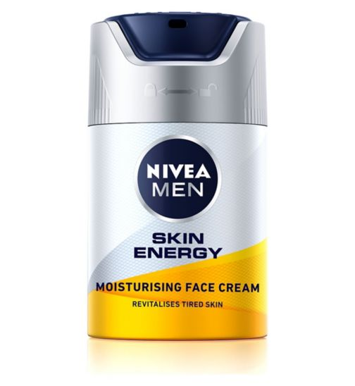 NIVEA MEN® Active Energy Skin Revitaliser Face Cream 50ml