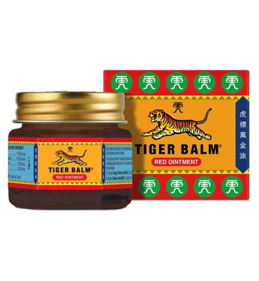 Tiger Balm Red Ointment - 19g Ointment