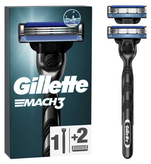 Gillette Mach3 Razor + Blade 1pk