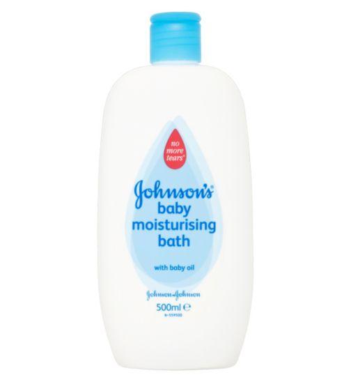 JOHNSON'S® Baby Moisturising Bath 500ml