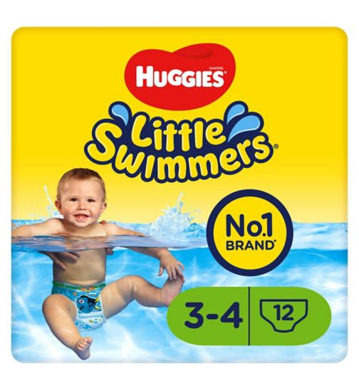 Huggies® Little Swimmers Size 3-4 (7kg-15kg) - 12 Pants