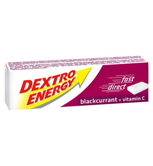 Dextro Energy Tablets Blackcurrant - 14 tablets
