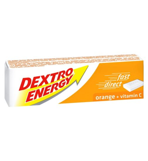 Dextro Energy Tablets Orange - 14 Tablets