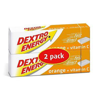 Dextro Energy Orange + Vitamin C 2 x 47g