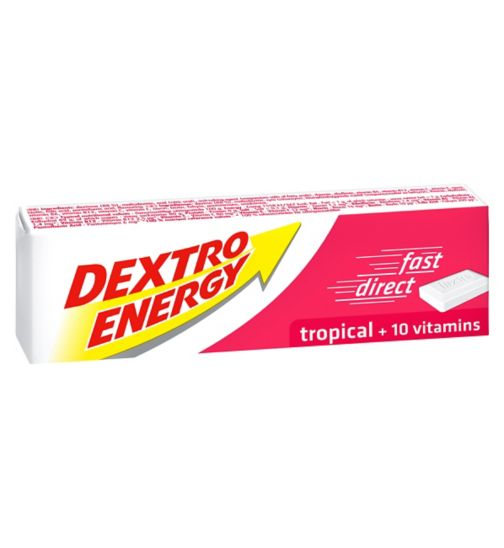 Dextro Energy Tablets Tropical 14 tablets