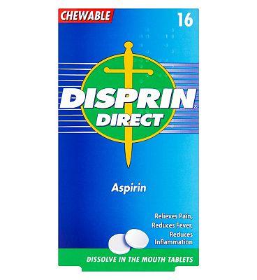 Disprin Direct - 16 Aspirin Tablets