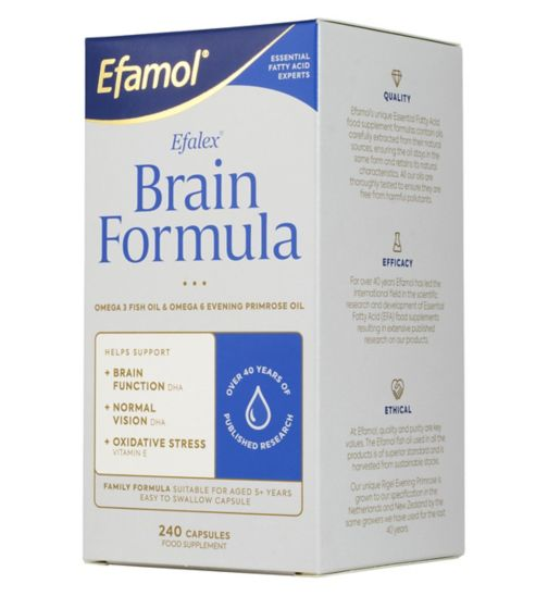 Efamol Efalex Brain Formula 240 caspsules