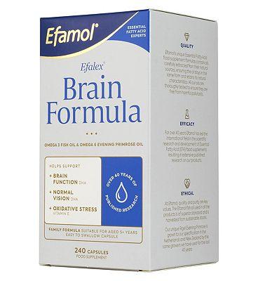 Efamol Brain. EFALEX BRAIN FORMULA. 240 caspsules