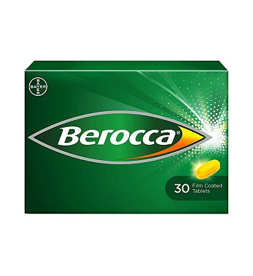 Berocca Film Coated Tablets - Orange 30 tablets