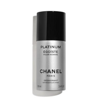 chanel egoiste. chanel platinum ÉgoÏste deodorant spray 100ml chanel egoiste