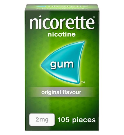 <p>Nicorette Original 2mg Gum - 105 pieces</p>
