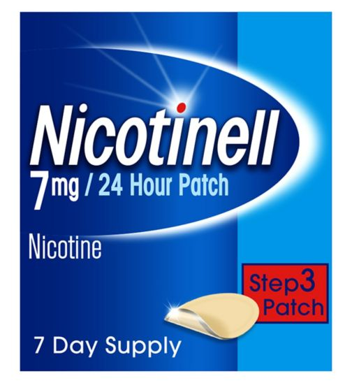 Nicotinell 7mg/24 Hour Patch Step 3 Patch (7 day supply)