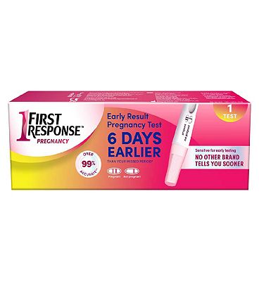 First Response Early Result Single Pregnancy Test