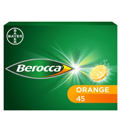 Berocca Orange - 45 effervescent tablets
