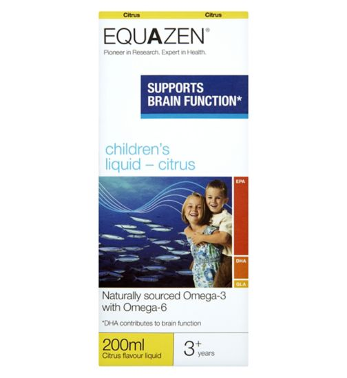 Equazen Children's Citrus Flavour Liquid 200ml