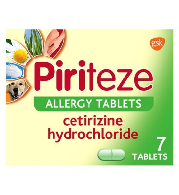 Allergy tablet