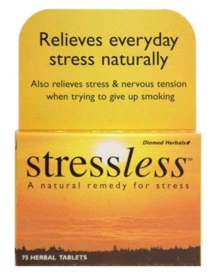 Diomed Herbals Stressless 75 Herbal Tablets