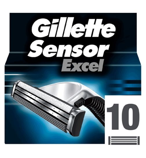 Gillette Sensor Excel Replacement Razor Blades 10 pack