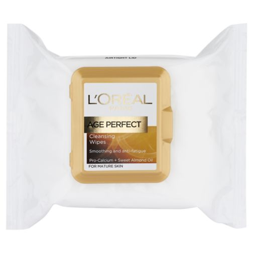 L'Oreal Paris Age Perfect Cleansing Wipes x25