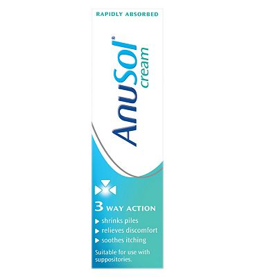 Anusol Cream Haemorrhoids (Piles) treatment (43g)