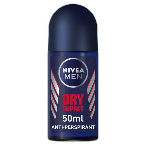 NIVEA MEN Dry Impact Anti-Perspirant Deodorant Roll-On 50ml