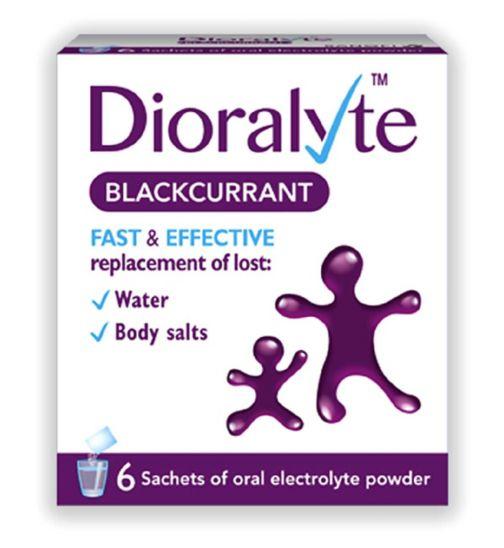 Dioralyte Blackcurrent - 6 Sachets