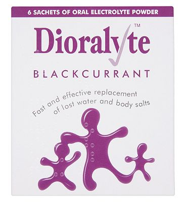 Dioralyte Blackcurrent - 6 Sachets