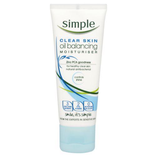 Simple Clear Skin Oil Balancing Moisturiser 75ml