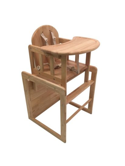 East Coast 3-in-1 Combination Wooden High Chair - Natural Finish