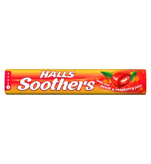 Halls Soothers - Peach & Raspberry