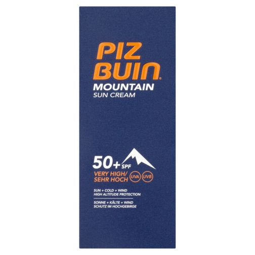 Piz Buin Mountain Suncream SPF50+ 50ml