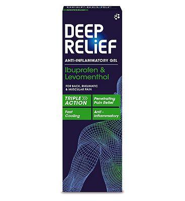 Deep Relief Anti-Inflammatory Gel - 50g