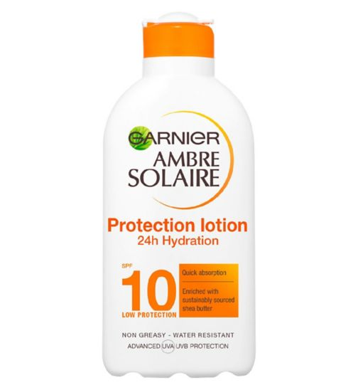 Ambre Solaire Ultra-hydrating Sun Cream SPF10 200ml