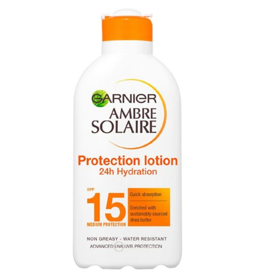 Ambre Solaire Ultra-hydrating Sun Cream SPF15 200ml