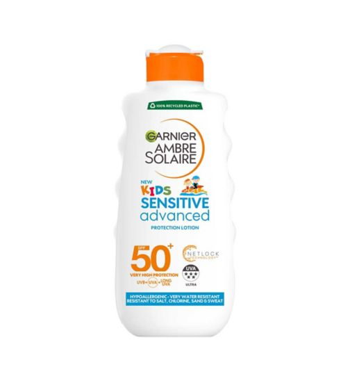 Ambre Solaire Kids Sensitive Sun Cream SPF50+ 200ml