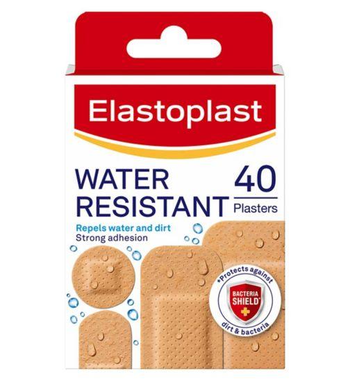 Elastoplast Water Resistant Plasters - 40 pack