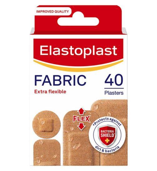 Elastoplast Fabric Plasters-40pack