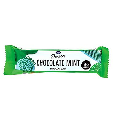 Shapers Chocolate Mint Nougat Bar - 23g