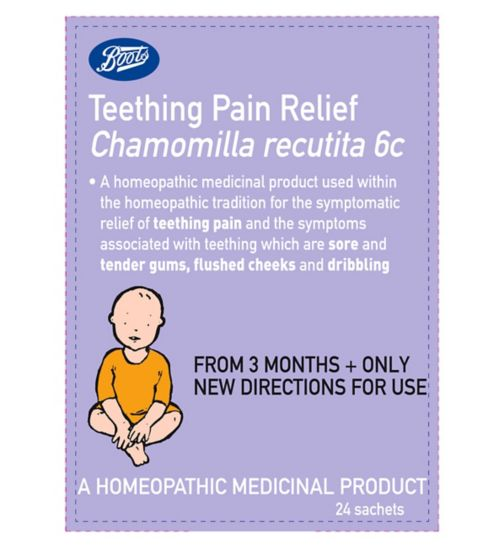 Boots Pharmaceuticals Teething Pain Relief - 24 Sachets