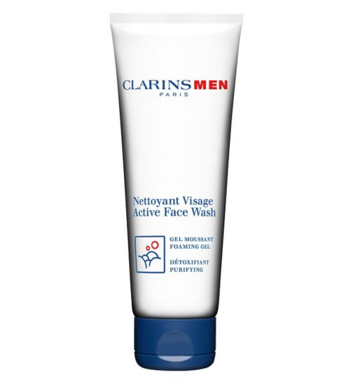 ClarinsMen Active Face Wash Foaming Gel 125ml